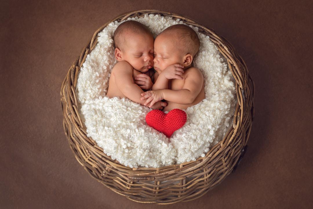 Zwillinge Mandy Limbach Neugeborenenfotografie Ingolstadt Babyfotografie