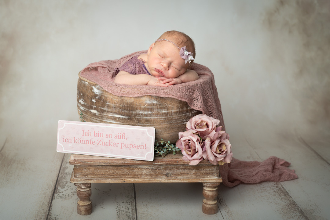 Neugeborenen Fotoshooting Newborn Shooting Ingolstadt Mandy Limbach