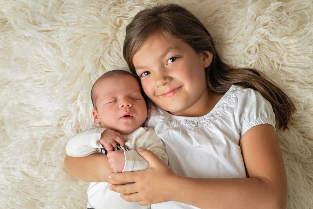 Geschwister Babyfotografie Ingolstadt Mandy Limbach