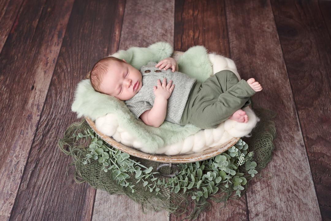 Neugeborenen Fotoshooting Babyfotografie Ingolstadt Mandy Limbach